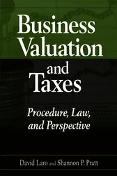 Business Valuation and Taxes by David Laro