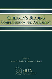 Children's Reading Comprehension and Assessment by Scott G. Paris