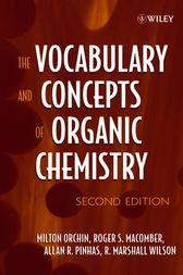 The Vocabulary and Concepts of Organic Chemistry by Milton Orchin