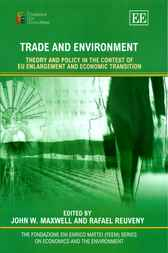 Trade and Environment by J. W. Maxwell