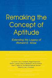Remaking the Concept of Aptitude by Lyn Corno