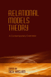 Relational Models Theory by Nick Haslam