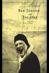 Ben Jonson and Theatre by Richard Cave
