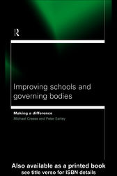 Improving Schools and Governing Bodies by Michael Creese