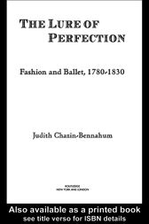 The Lure of Perfection by Judith Bennahum