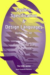 System Specification & Design Languages by Eugenio Villar