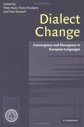 Dialect Change by Peter Auer