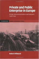 Private and Public Enterprise in Europe by Robert Millward