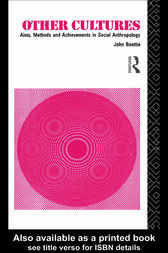 Other Cultures by John H.M. Beattie