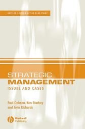 Strategic Management by Paul W. Dobson