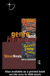 Genre and Hollywood by Steve Neale