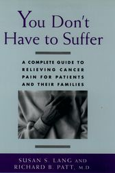 You Don't Have to Suffer by Susan S. Lang