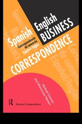 Spanish/English Business Correspondence by Michael Gorman
