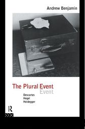 The Plural Event by Andrew Benjamin