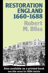 Restoration England by Robert M. Bliss
