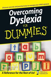 Overcoming Dyslexia For Dummies by Tracey Wood