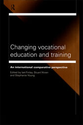 Changing Vocational Education and Training by Ian Finlay