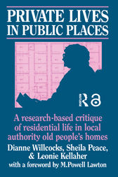 Private Lives in Public Places by Dianne Willcocks