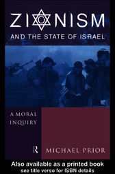 Zionism and the State of Israel by The Rev Dr Michael Prior Cm