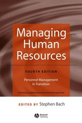 Managing Human Resources by Stephen Bach