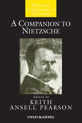 A Companion to Nietzsche by Keith Ansell Pearson
