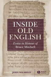 Inside Old English by John Walmsley