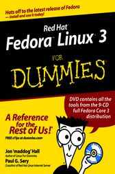 Red Hat Fedora Linux 3 For Dummies by Jon Hall