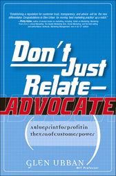 Don't Just Relate - Advocate! by Glen Urban