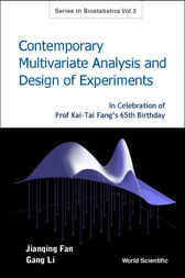 Contemporary Multivariate Analysis And Design Of Experiments by Jianqing Fan
