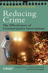 Reducing Crime by Amanda Perry