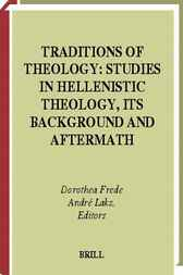 Traditions of theology by D. Frede