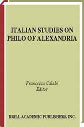 Italian studies on Philo of Alexandria by F. Calabi