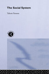 The Social System by Parsons Talcott