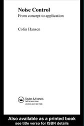 Noise Control by Colin Hansen