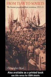 From Tsar To Soviets by Christopher Reed