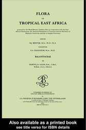 Flora of tropical East Africa - Balanitaceae (2003) by H.J. Beentje