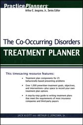 The Co-Occurring Disorders Treatment Planner by Jack Klott