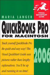 QuickBooks Pro 2006 for Macintosh by Maria Langer