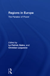 Regions in Europe by Patrick Le Gales
