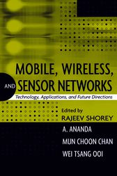 Mobile, Wireless, and Sensor Networks by Rajeev Shorey