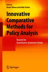 Innovative Comparative Methods for Policy Analysis by Benoit Rihoux