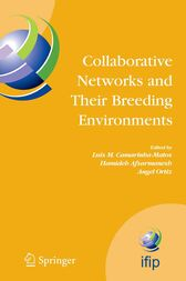 Collaborative Networks and Their Breeding Environments by Luis M. Camarinha-Matos