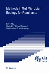 Methods in Gut Microbial Ecology for Ruminants by Harinder P.S. Makkar