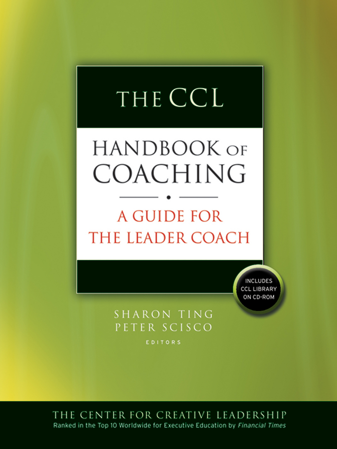 Download Ebook The CCL Handbook of Coaching by Sharon Ting Pdf