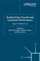 Productivity Growth and Economic Performance by John McCombie