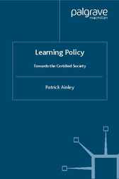 Learning Policy by Patrick Ainley