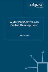 Wider Perspectives on Global Development by UNU-WIDER