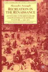 Recreation in the Renaissance by Alessandro Arcangeli