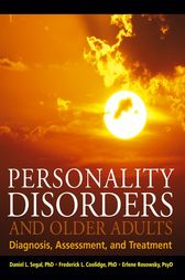 Personality Disorders and Older Adults by Daniel L. Segal
