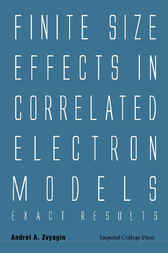 Finite Size Effects In Correlated Electron Models by Andrei A Zvyagin
